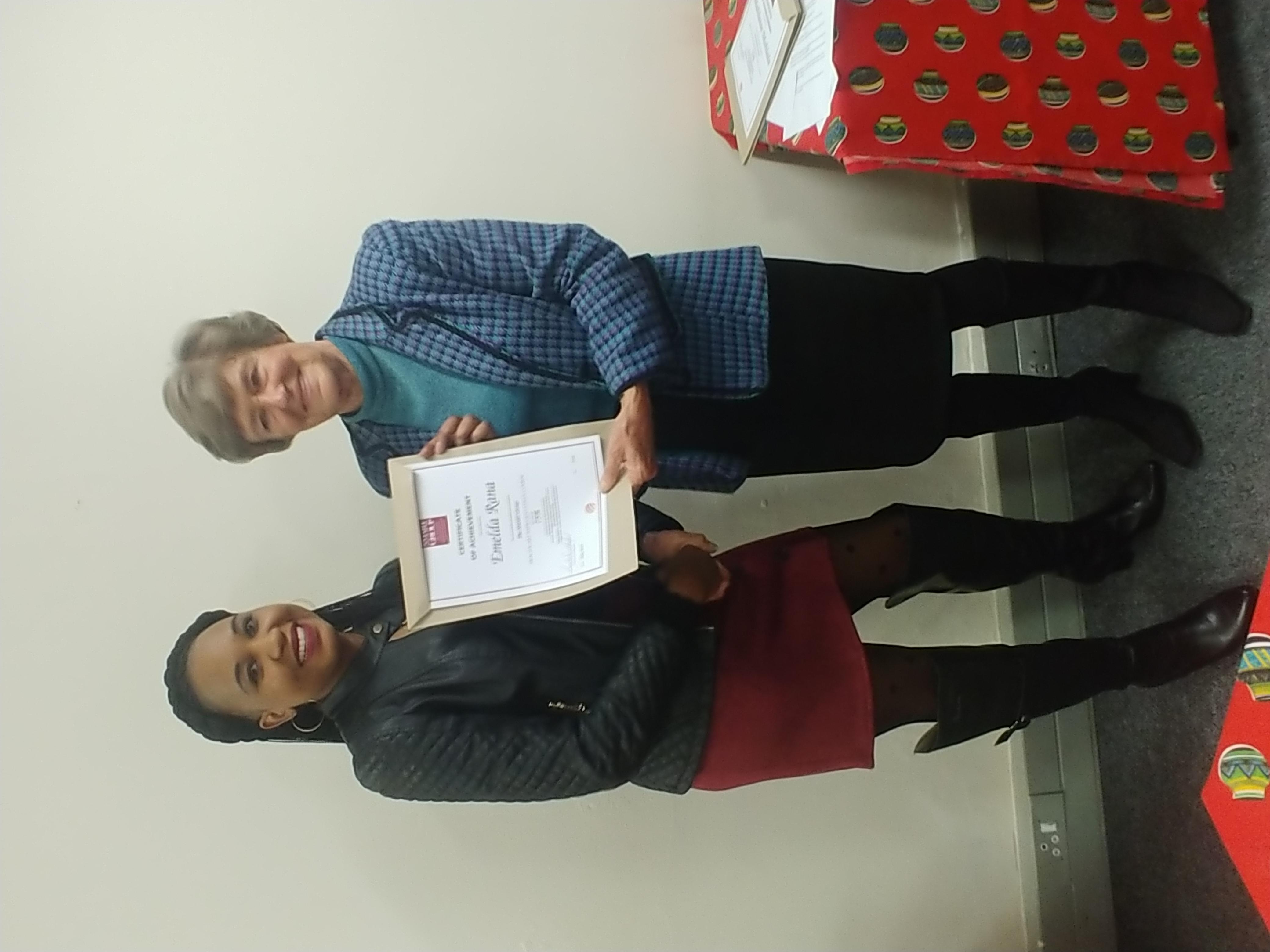 Congratulations Emelda Rana